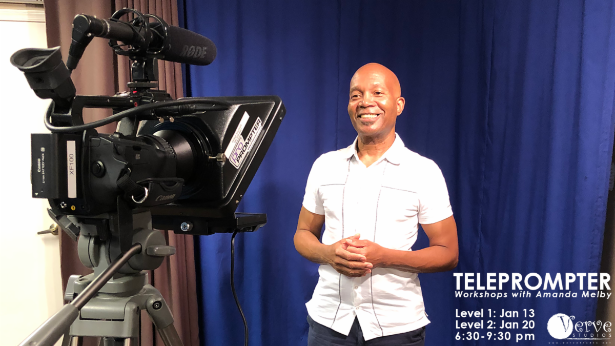 Verve Studios AZ TelePrompTer Workshop Professional Actor Training Scottsdale Arizona