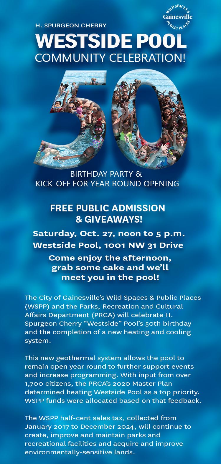 westside pool invite