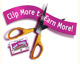Box Tops for Education. Clip more to Earn More!