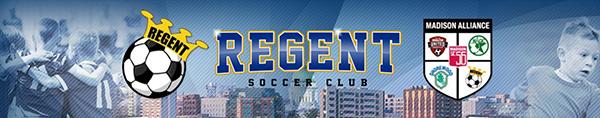 Regent Soccer banner