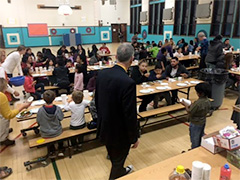 Photo from a Latino Parent Empowerment Group Meeting