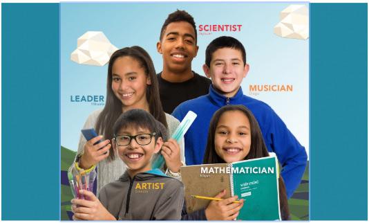 Five advanced learning kids.