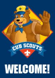 Welcome Cub Scouts
