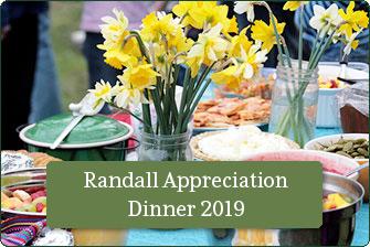 Randall Appreciation Dinner 2019