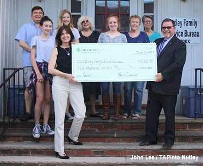 Investors Bank $5K Donation to NFSB