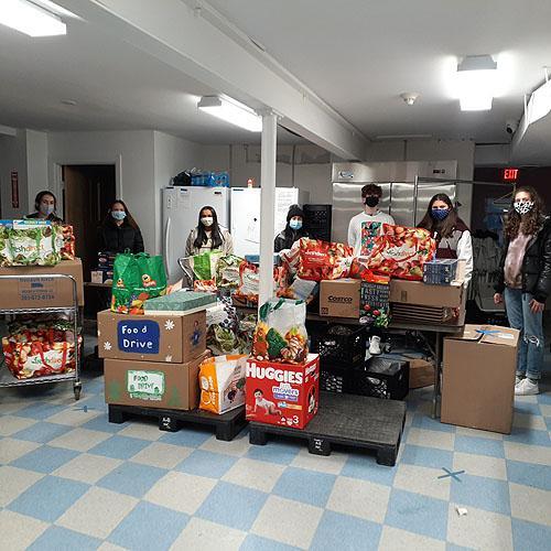 Cambridge Heights Community Food Drive
