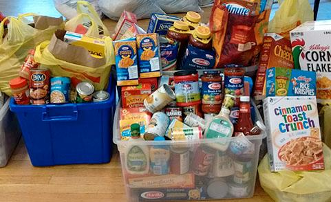 Spring garden Food Donations