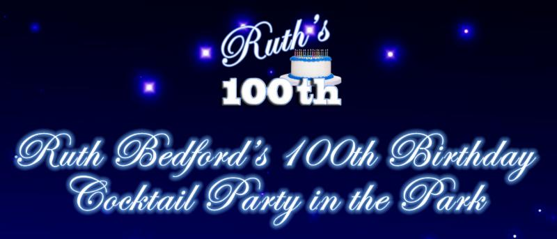 Riuth's 100th Birthday Party