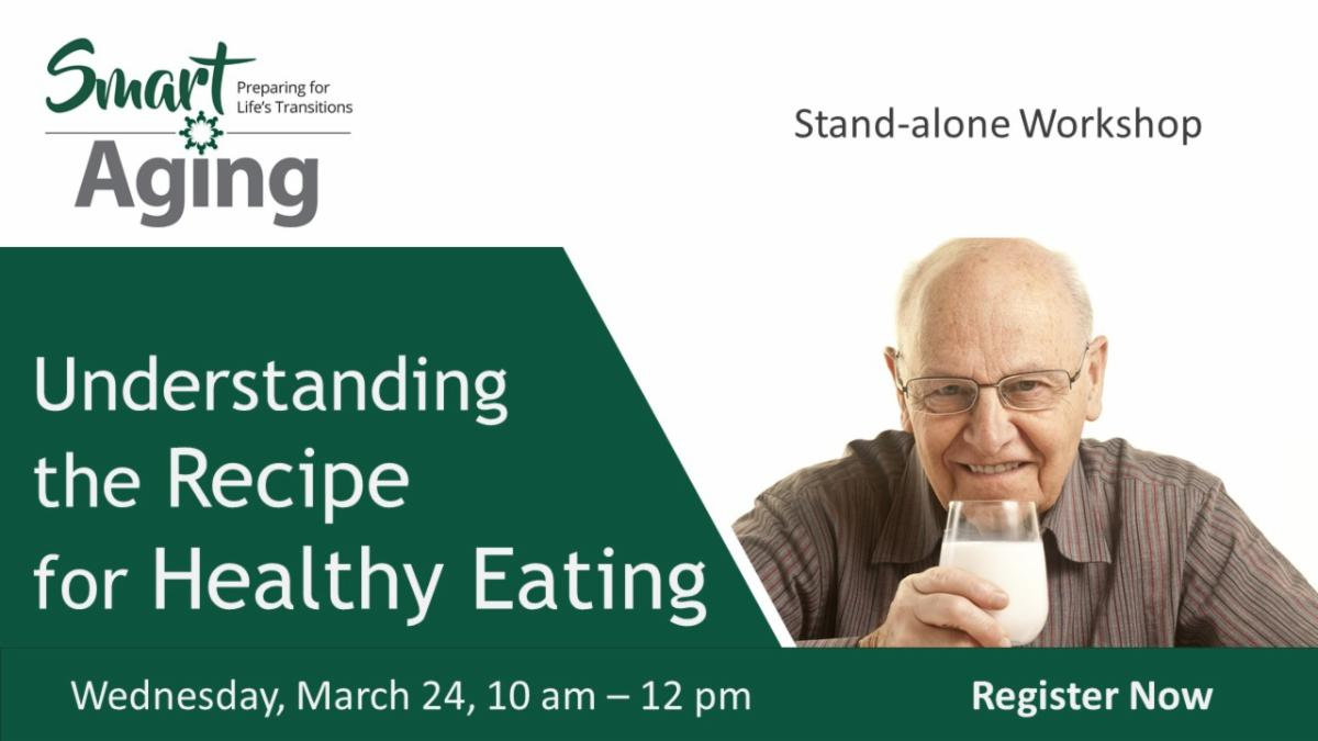 banner ad for 'Recipe for Healthy Eating' and lnk