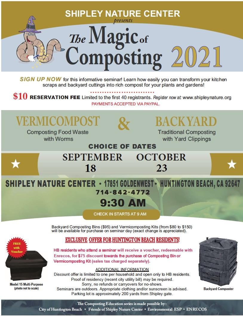 Magic of Composting 2021 Flyer