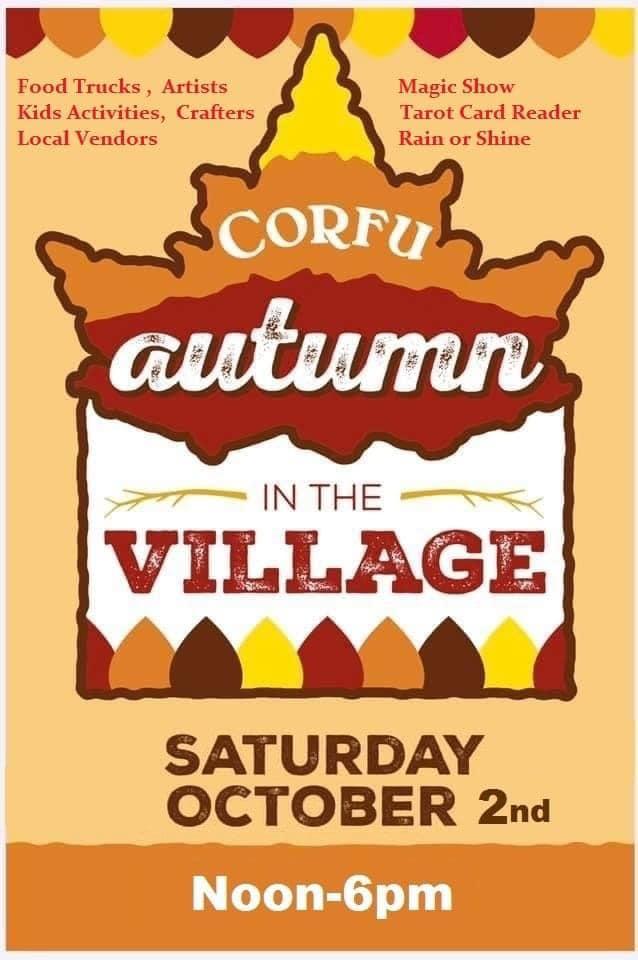 Corfu Autumn in the Village flyer