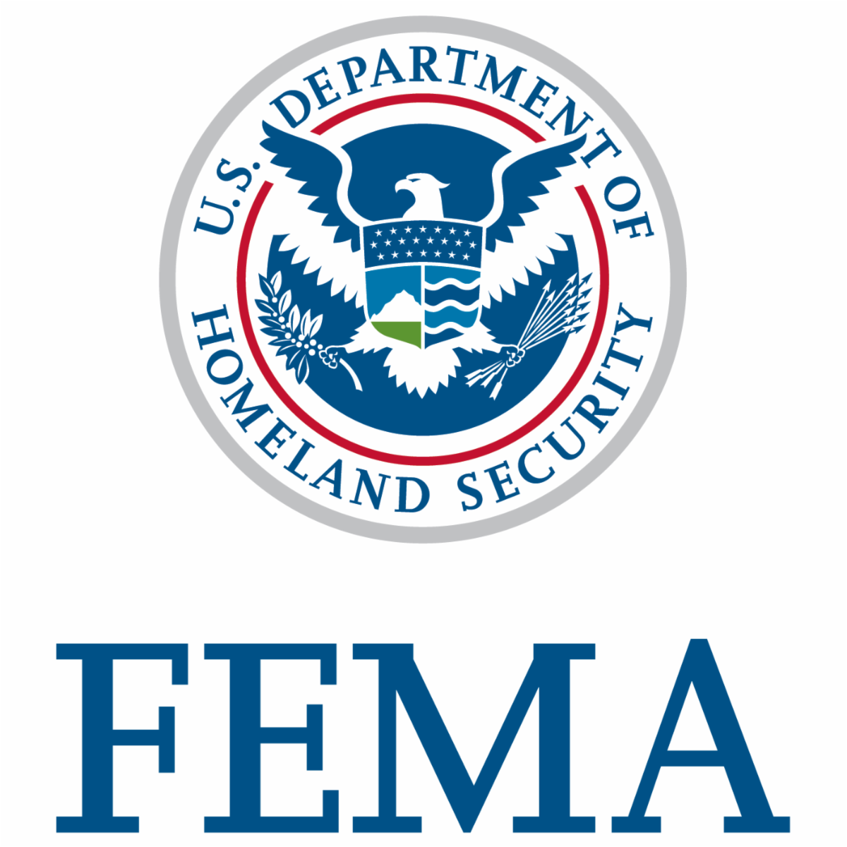 DHS FEMA logo