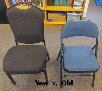 New Chairs for US!