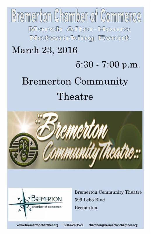 Bremerton Chamber of Commerce March Newsletter