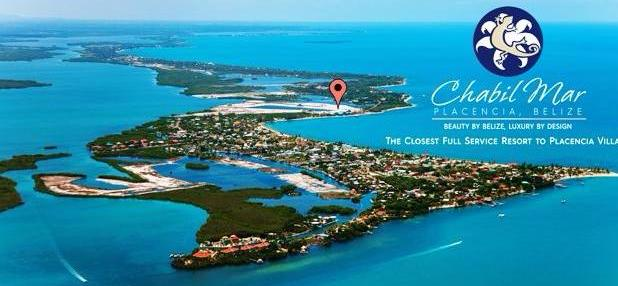 Placencia Village, Belize, Aerial Photo