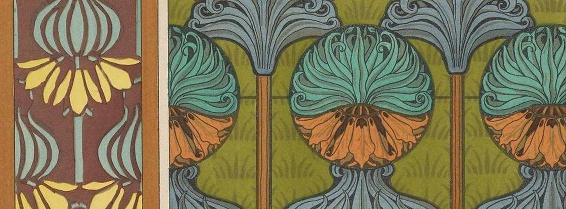 "Illustration from ""La plante et ses applications ornementales"" (1896)."