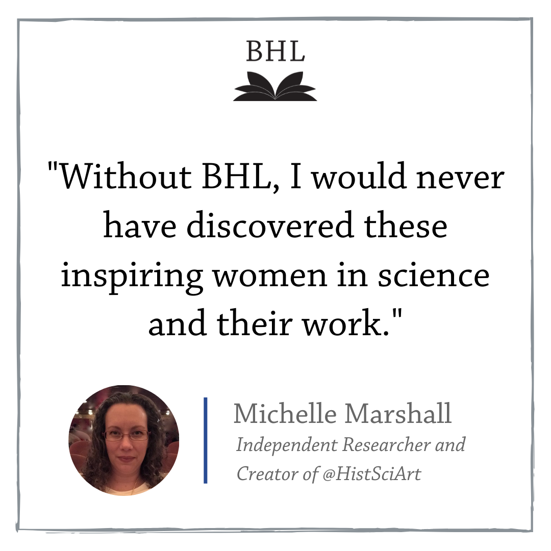 Graphic with a quote from Michelle Marshall.
