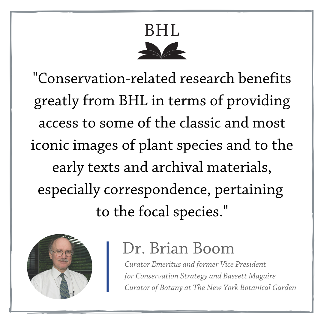 Graphic with a quote from Dr. Brian Boom.