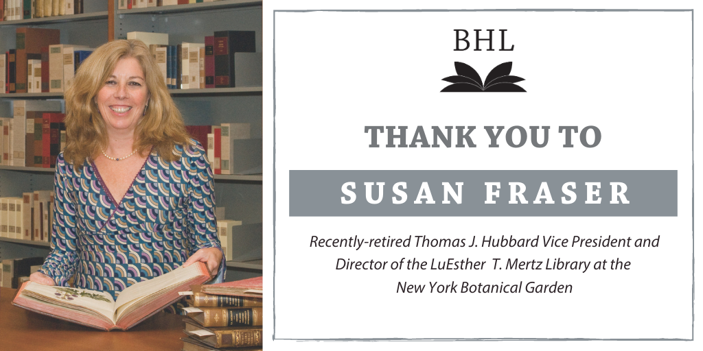 """""""Thank you to Susan Fraser"""" graphic."""