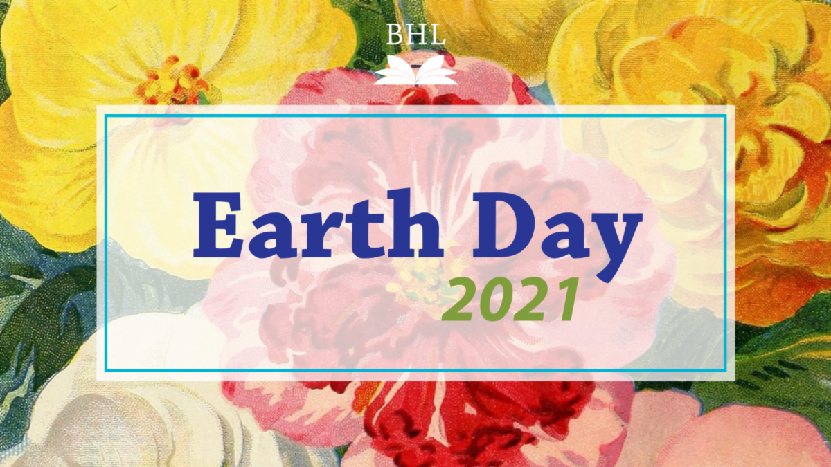 Graphic for Earth Day 2021.