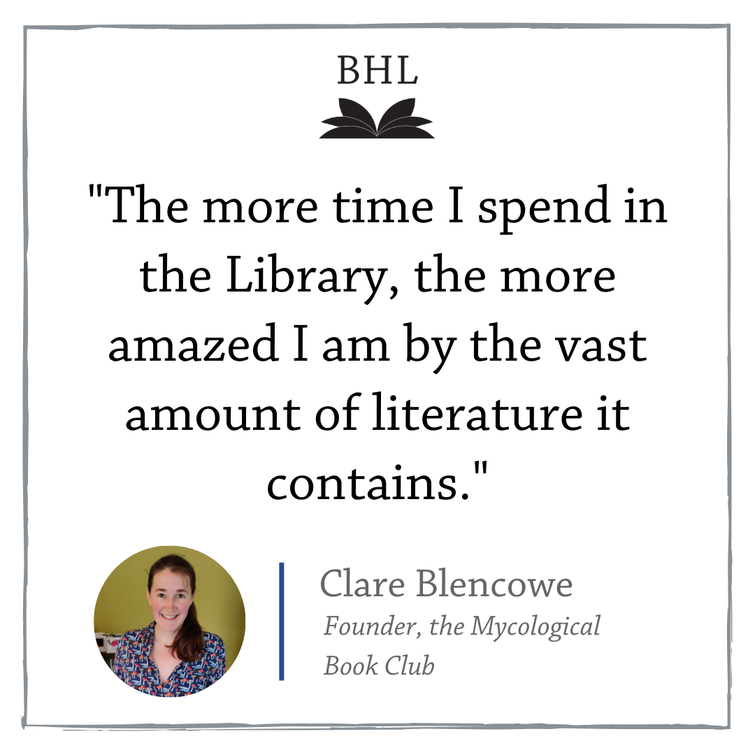 Graphic with a quote from Clare Blencowe.