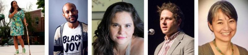Five headshots of the new theater advisors.