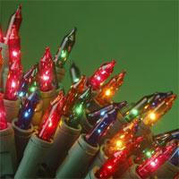 Photo of holiday lights