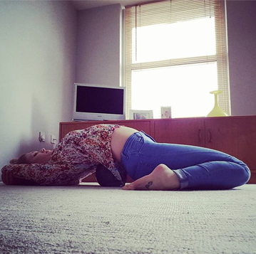 suptavajrasana  byc hot yoga