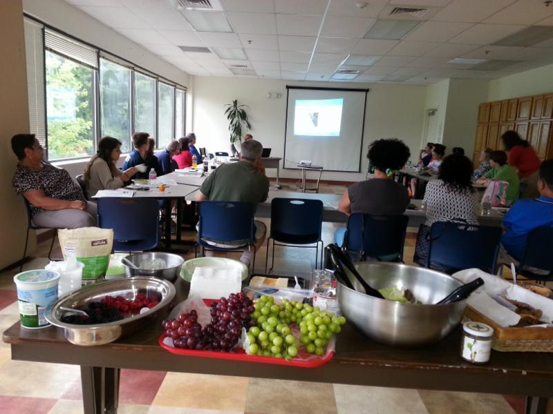 Food Safety training class