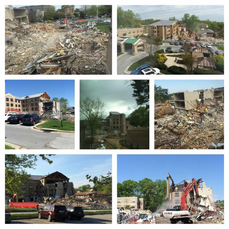 RGT Demolition Collage